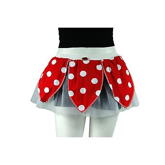Insanity Red & White Minnie Polka Dot Tutu Skirt