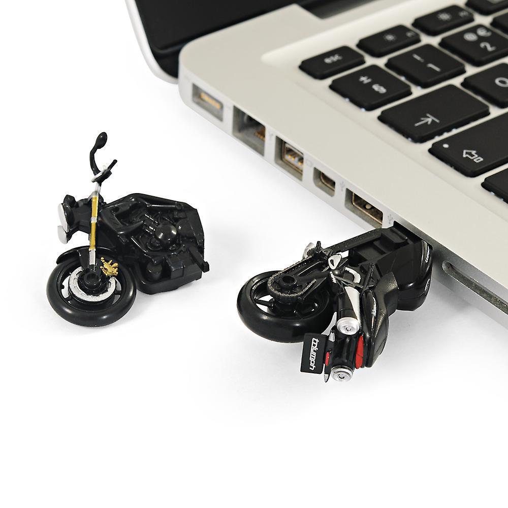 Official Triumph Street Triple Motorbike USB Memory Stick 16Gb - Black