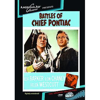Batailles d'importation USA chef Pontiac [DVD]