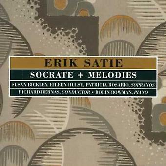 Erik Satie - Satie: Socrate; Melodies [CD] USA import