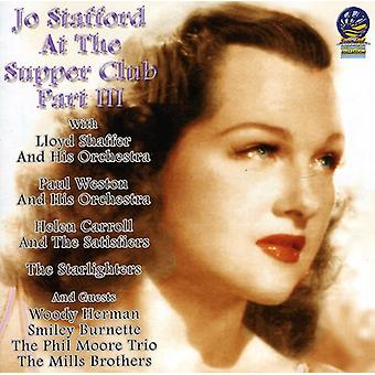 Jo Stafford - At the Supper Club Pt. 3 [CD] USA import