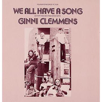 Ginni Clemmens - We All Have a Song [CD] USA import