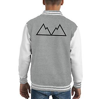 Twin Peaks Jagged Peaks Kid's Varsity Jacket