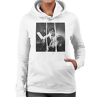 Bryan Ferry fotografieren 1974 Damen Sweatshirt mit Kapuze