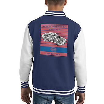 Хайнс мастерская ручной 0904 Ford Сьерра V6 4 X 4 полосы малыша Varsity куртка