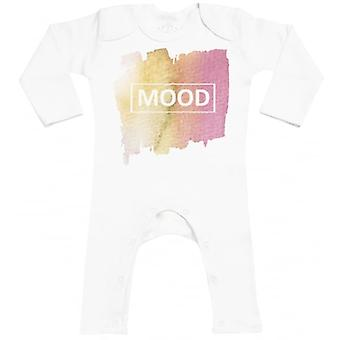 Spoilt Rotten Mood Print Baby Footless Romper