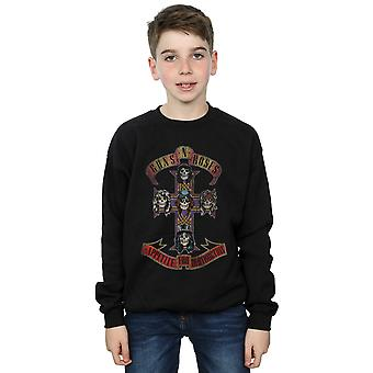 Guns N Roses Boys Appetite For Destruction Distressed Sweatshirt