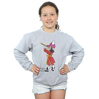 Disney Mädchen Peter Pan Classic Captain Hook Sweatshirt