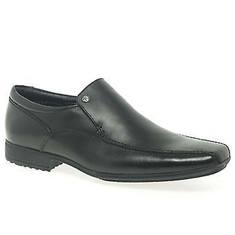 Belmont avant Mens Smart cuir Slip sur chaussures