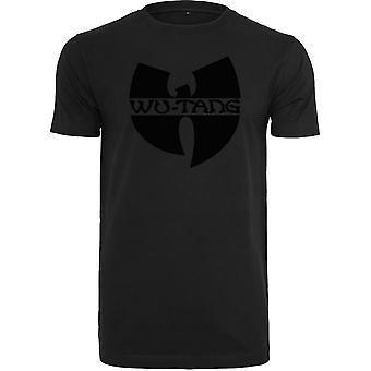 Wu-wear hip hop T-shirt - BLACK LOGO black