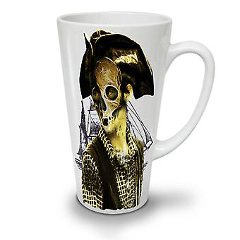 Pirate Metal Death NEW White Tea Coffee Ceramic Latte Mug 12 oz | Wellcoda