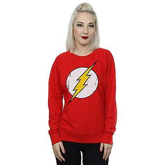 DC كاريكاتير المرأة & apos;s فلاش قميص شعار المتعثرة