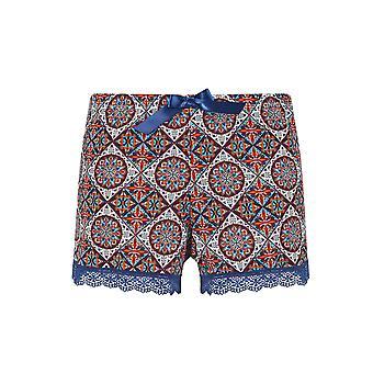 Guy multicolore Motif pyjama Pyjama court de France 18024-181-018 femmes