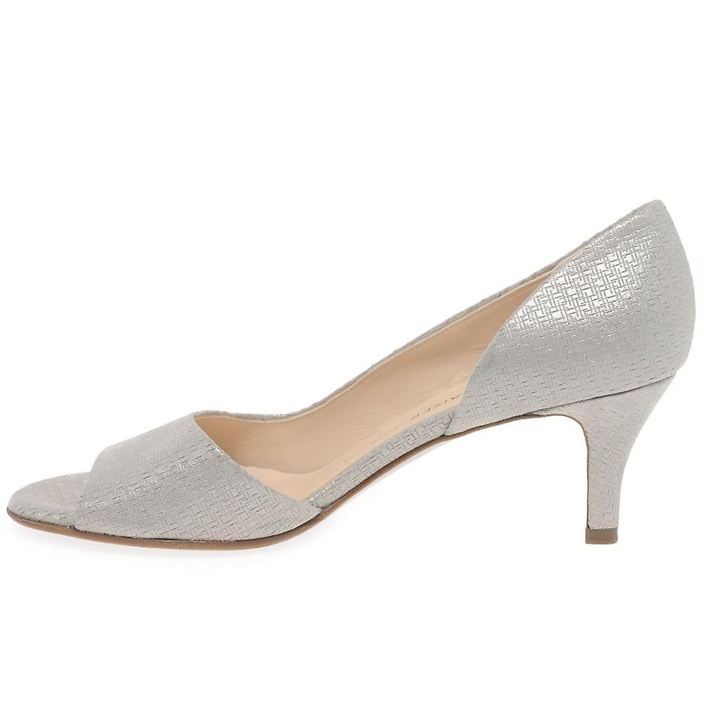 Boulevard WomensLadies Low Heel Plain Court Shoes Nye