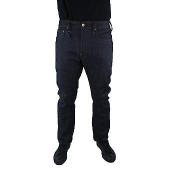 G-Star US First Straight Dark Aged Loom Denim Jeans