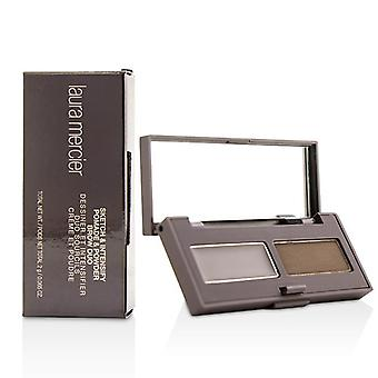 Laura Mercier Sketch & Intensify Pomade And Powder Brow Duo - Brunette - 2g/0.065oz