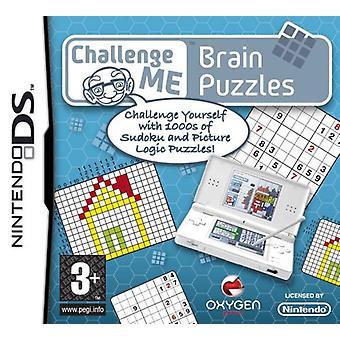 Udfordre mig hjerne puslespil (Nintendo DS)-fabrikken forseglet