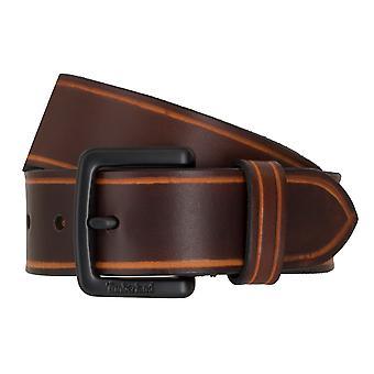 Timberland bälten mäns bälten läder bälte jeans brun 6753