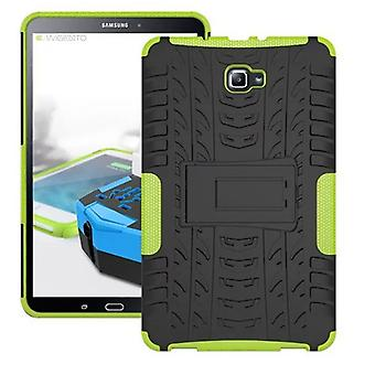 Hybrid outdoor protective cover case green for Samsung Galaxy tab A 10.1 T580 / T585 2016 bag