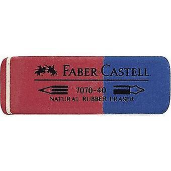 فابر كاستيل 187040 نوع ممحاة الأحمر والأزرق