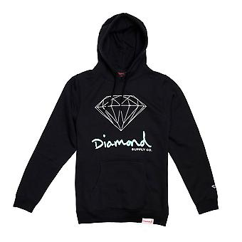 Diamond Supply Co. OG signe Core Hoodie noir