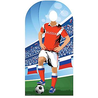 Wk 2018 Rusland Voetbal Karton Cutout / Standee Stand-in