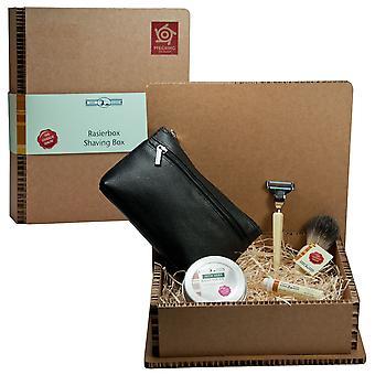 Altın daches sakal bakım hediye kutusu hediye seti Bartset ayarlayın