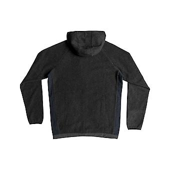 Quiksilver Bigger Boat glidelås Hoody i Charcoal Heather