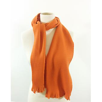 Genuine Fraas Fashion Scarf Orange Soft Winter Warm Unisex No Label UK