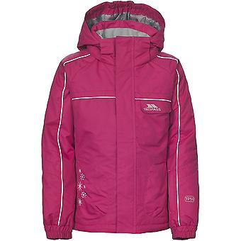 Trespass Childrens Girls Jaya Water Resistant Ski Jacket