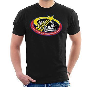 NASA STS 123 transbordador Endeavour misión parche camiseta de los hombres