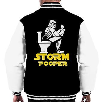 Original Stormtrooper Pooper Men's Varsity Jacket