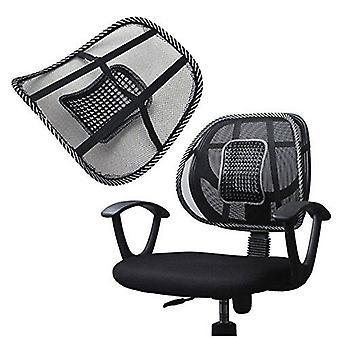 Mesh posteriore lombare supporto massaggio perline per seggiolino sedia massaggi cuscino