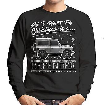 All I Want For Christmas est Sweatshirt un défenseur des hommes