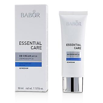 Babor Essential Care Bb Cream Spf 20 (for Dry Skin) - # 02 Medium - 50ml/1.7oz