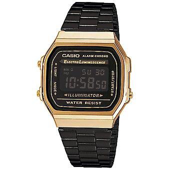 Casio Retro zegarek Unisex A168WEGB-1BEF