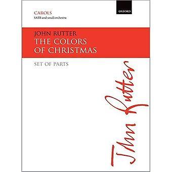 Die Farben von Weihnachten: Stimmensatz