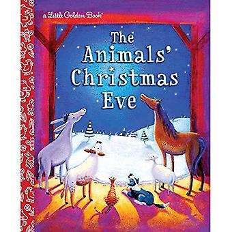 The Animals' Christmas Eve (Little Golden Books (Random House))