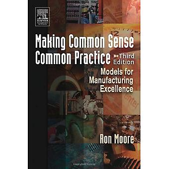 Making Common Sense Common Practice: Models for Manufacturing Excellence