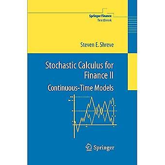 Stokastisk kalkulus for finans II