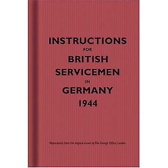 Instructions pour les militaires britanniques en Allemagne, 1944 (Instructions pour les militaires)