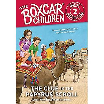 Ledtråden i Papyrus Bläddra (Boxcar barn stora äventyr)