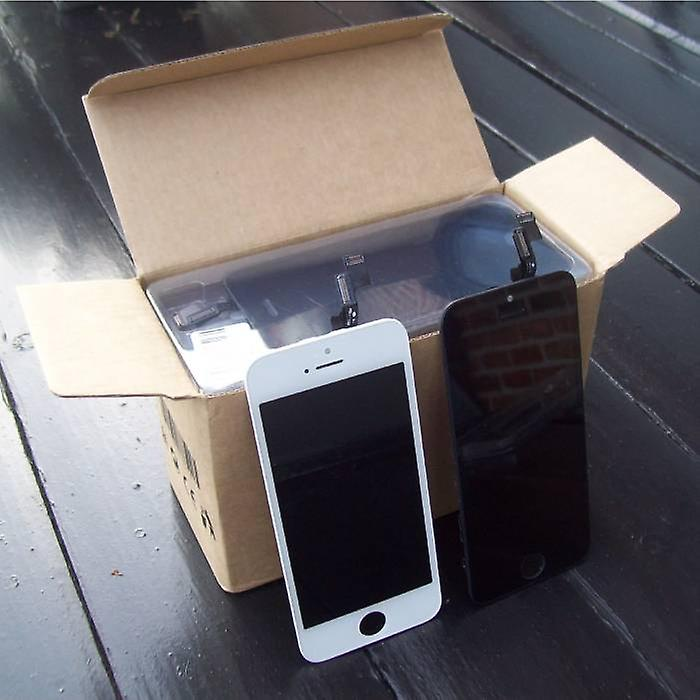 Stuff Certified® iPhone 5S Screen (Touchscreen + LCD + Parts) A + Quality - White + Tools