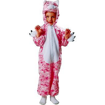 Pink Kitten Toddler Costume