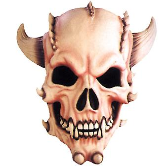 Demone teschio maschera per Halloween