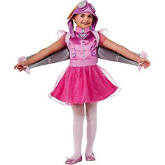 Skye Costume For Girls From Paw Patrol