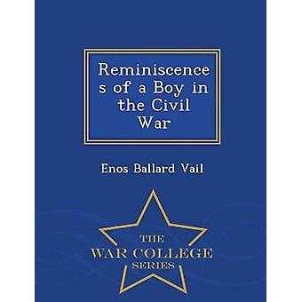 Souvenirs d'un garçon dans la série guerre Civil War College de Vail & Enos Ballard