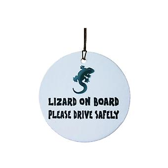 Lizard On Board Car Air Freshener