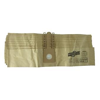 Sacos de pó de papel de aspirador Nilfisk Gd110