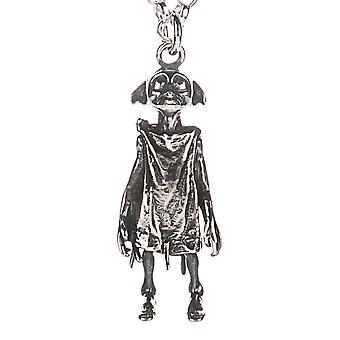 Harry Potter Sterling Silver Dobby the Elf Charm Necklace